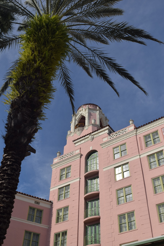 Vinoy Hotel, St. Petersburg, Florida.