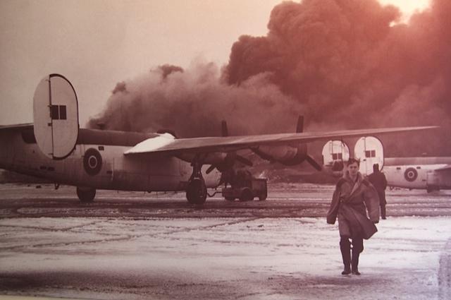 Gander, NL duringWWII
