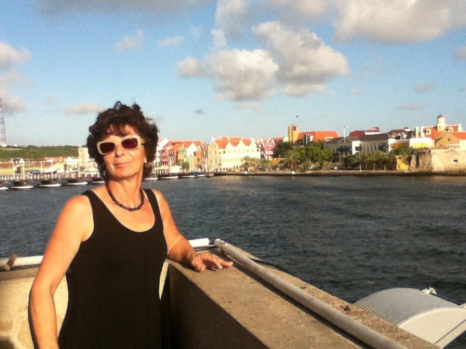 Ruth Palmer in Curaçao.