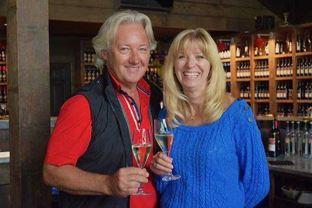 Carl and Donna Sparkes own Devonian Coast Wineries (Jane Adey)