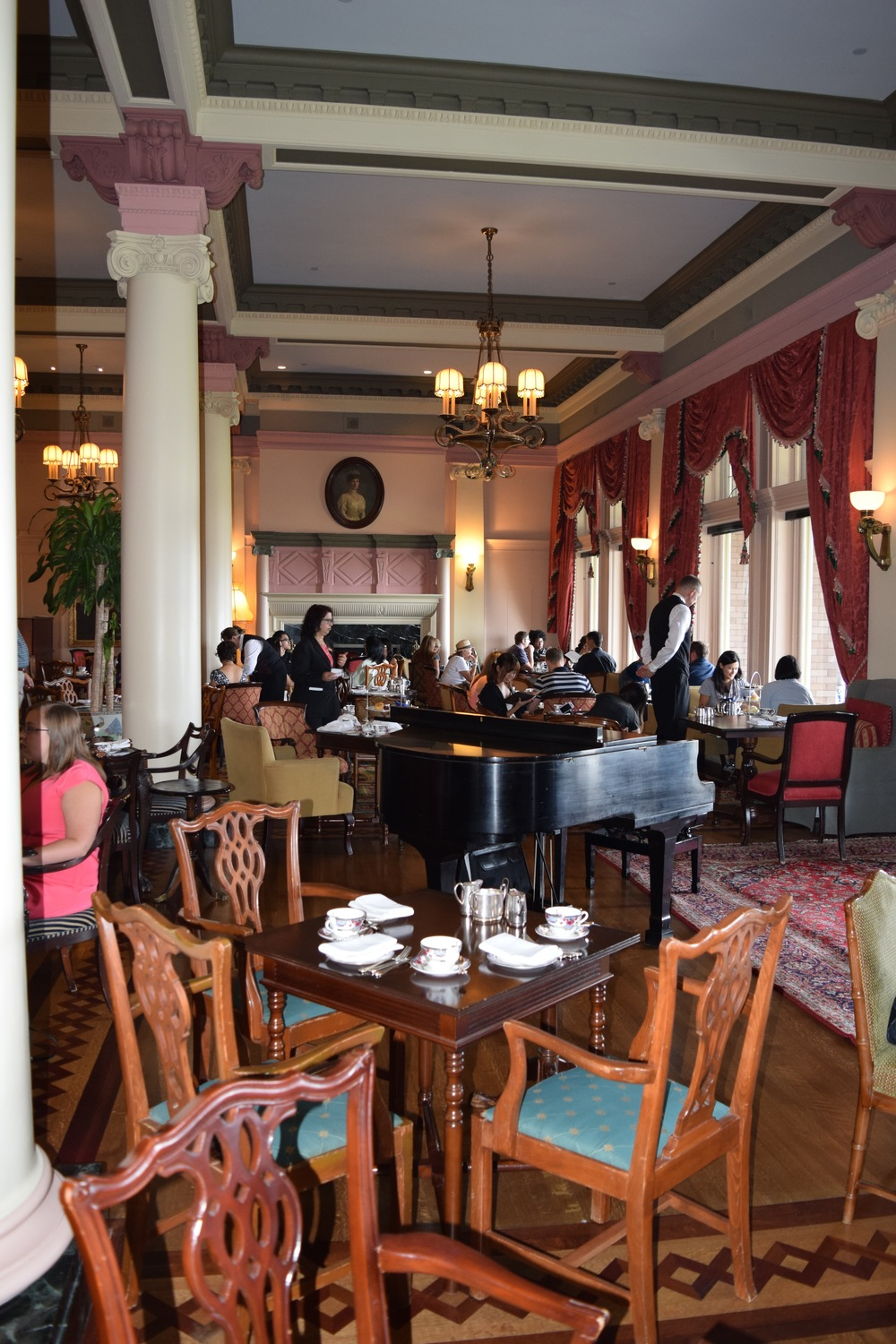 Tea Room at The Empress Hotel, Victoria, British Columbia