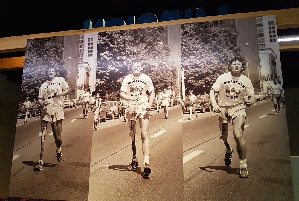 Terry Fox Exhibit: Running To The Heart of Canada (Photo: Jane Adey)