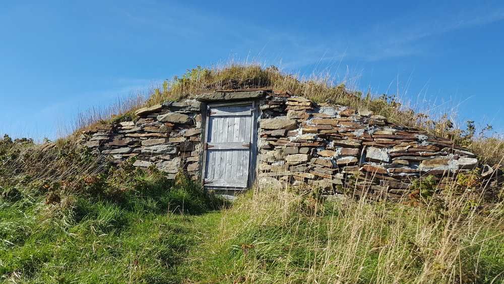 An old root cellar in Elliston, Newfoundland. Root cellar capital of the world!