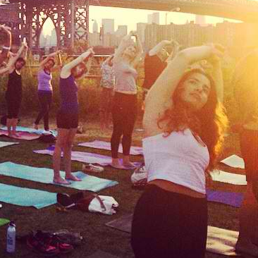 MONDAY, SEPT 22 Outdoor Deep House Yoga Verboten