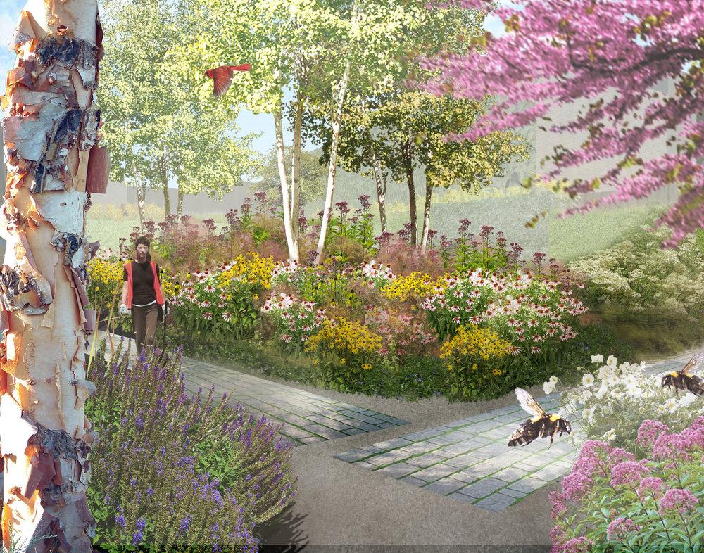 Williamsburg Garden -