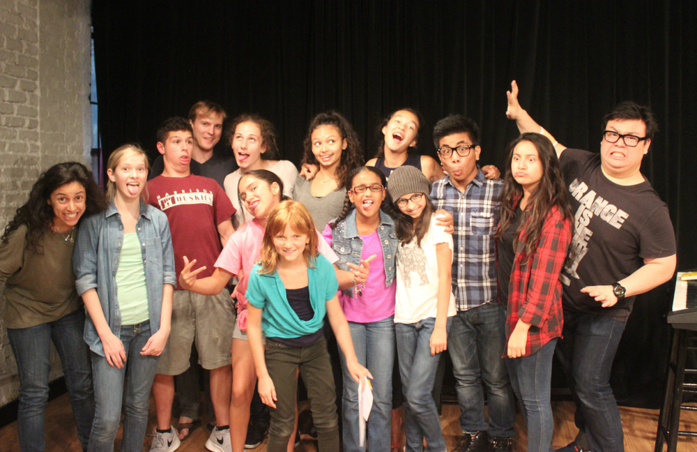The Inaugural Summer Intensive at the Professional Institute for Young Actors. (2014)  photo: todd estrin