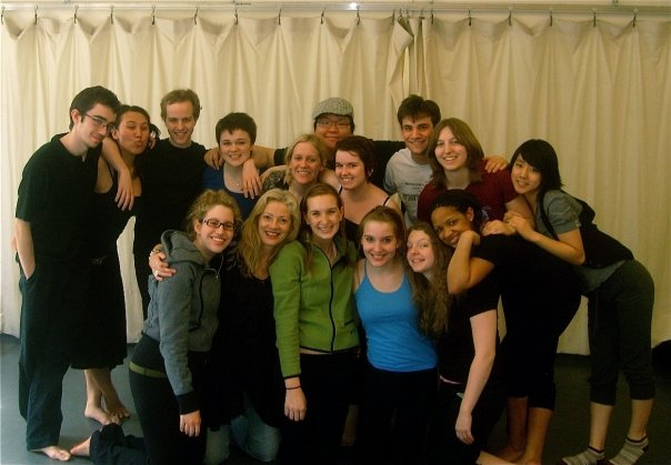 With my freshman acting studio group at NYU. (2008)