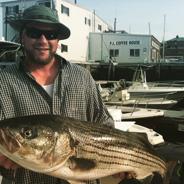 Nice 37 inch Striper for Hess!
