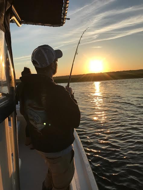 Louis is tight on a schoolie at Sunset to cap off a great charter trip!