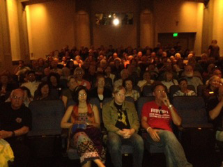 The audience at the second sold out show at MVFF37