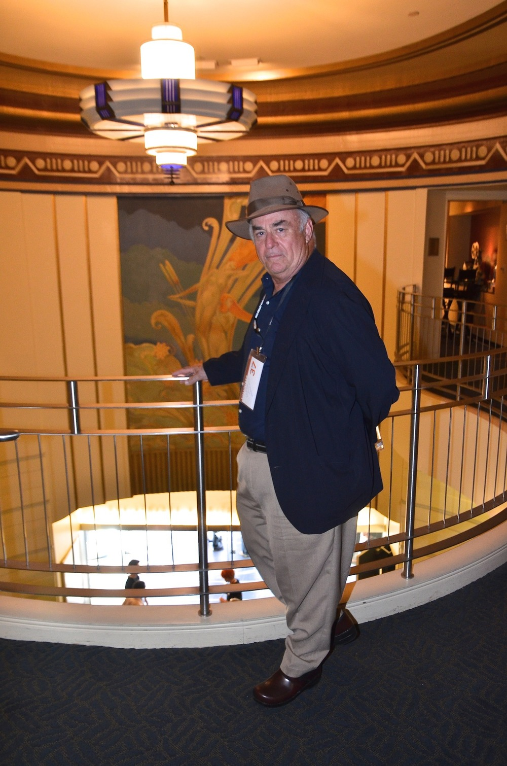 Director William Farley at the Christopher B. Smith Rafael Film Center - MVFF37