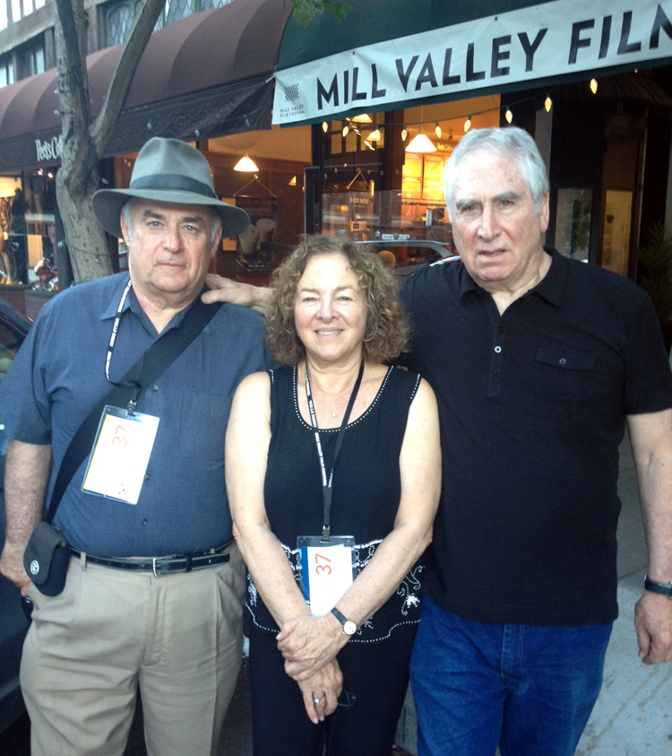 Team Plastic Man at MVFF37  - William Farley, Janis Plotkin and Jerry Ross Barris