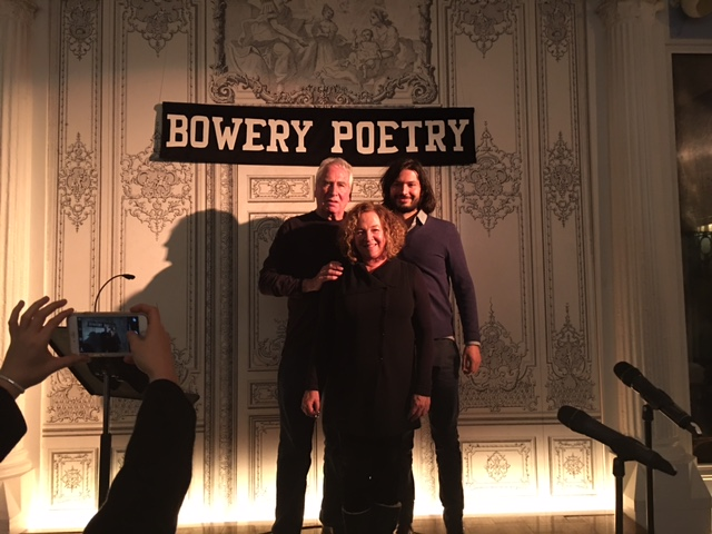 Bowery Poetry Art Center, New York City with Director/Producer, Nikil!