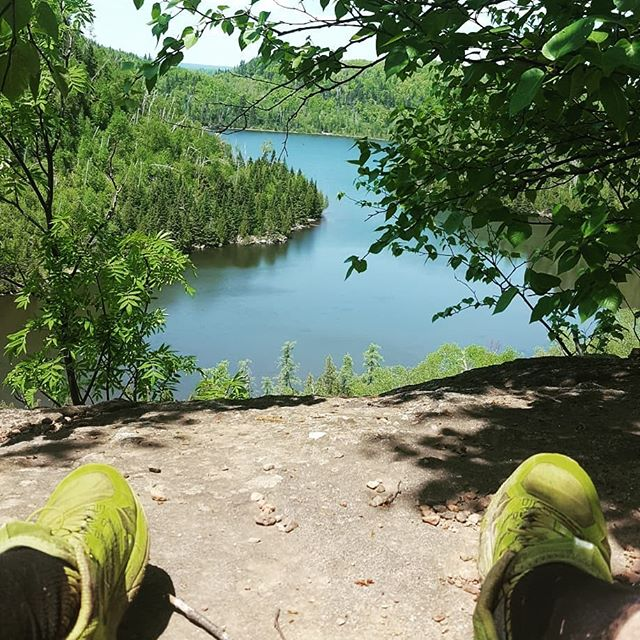 Amazing view at Wolf Lake. Quite the hike up! #tftrailchallenge @trailfitters