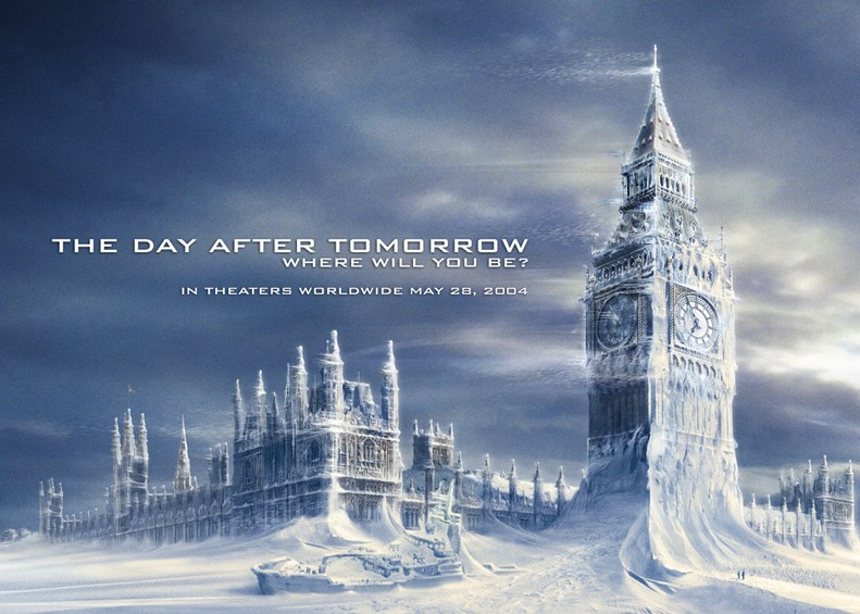The Day After  Tommorow - London if we don't reduce our carbon footprint