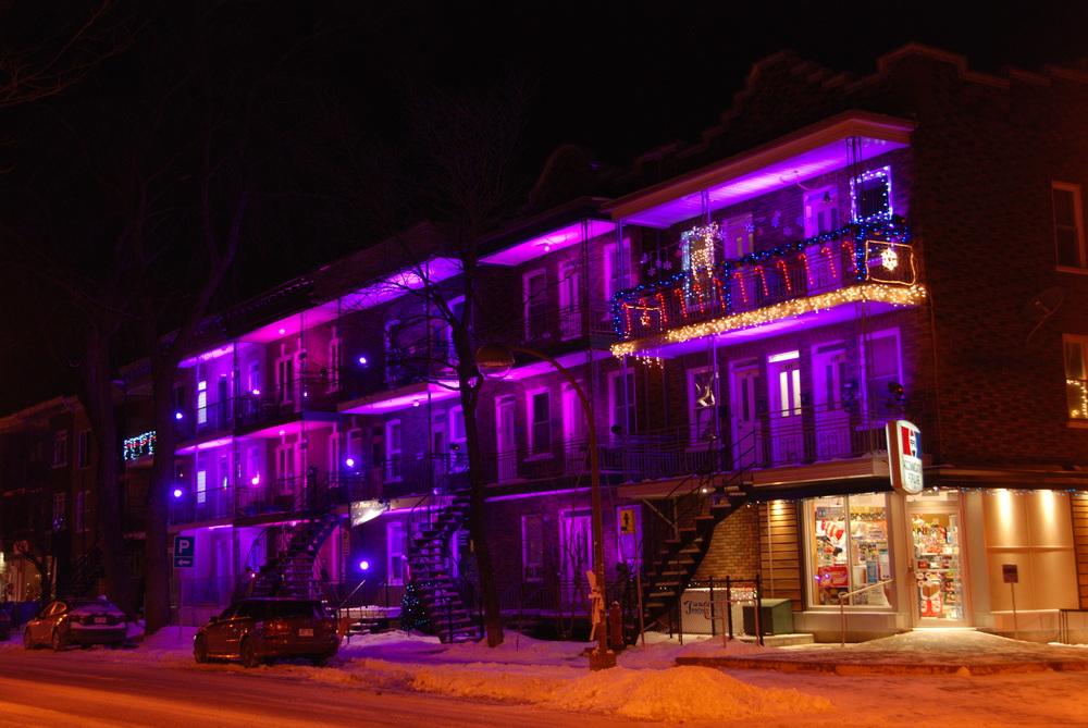 Plan lumière, 3e avenue, Limoilou, Quebec