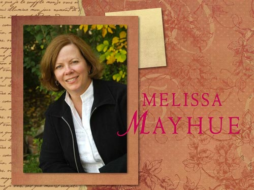 "This is Melissa Mayhue, author of ""Highlander's Curse""."