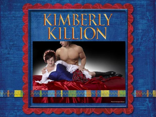 "Kimberly Killion, author of Caribbean Scot"", can be sassy too."