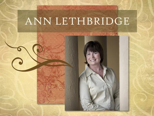 "Author Ann Lethbridge, who wrote ""More Than a Mistress"", has a very refined English accent"
