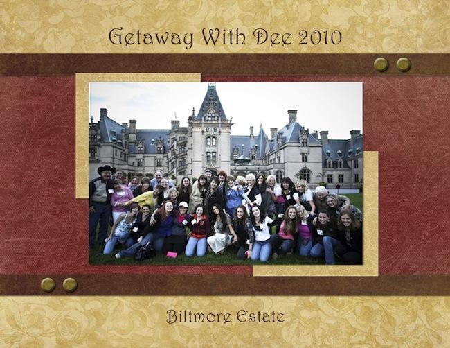 Getaway With Dee - Biltmore 2010