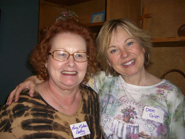 Lena Nelson Dooley & me. :)