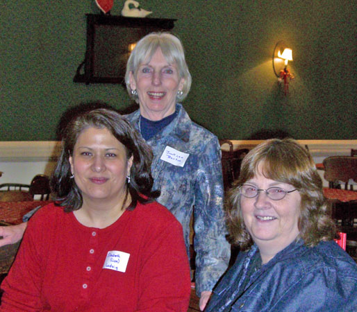 Elizabeth Ludwig, Janet Lee Barton & Vickie McDonough