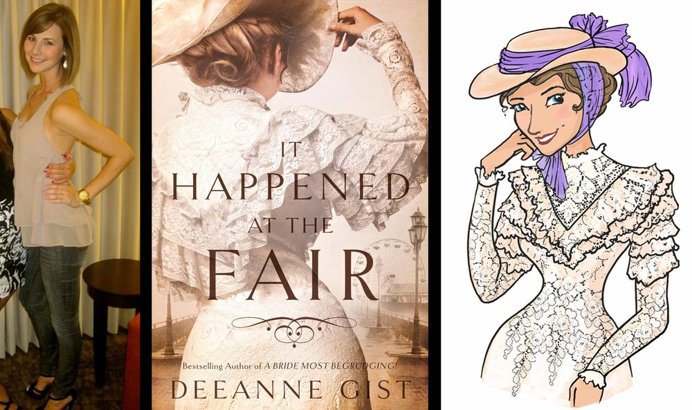 Deeanne's daughter, the inspiration for Della in  It Happened at the Fair  and in  Romp Through 1893: The Invitation .