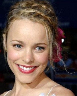 I would cast Rachel McAdams as Georgie Gail.