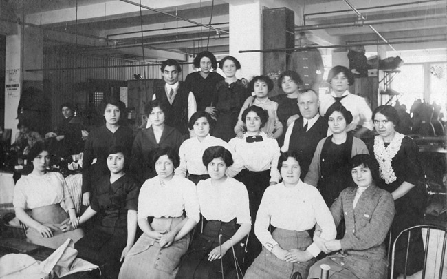 Women workers in New York City