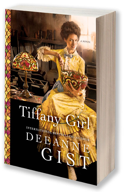 How does a modern woman find her way in 1893 New York City? By breaking every rule. Tiffany Girl - May 5th.