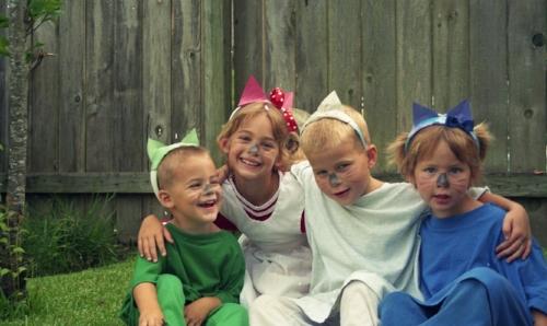 The kids back in 1994.