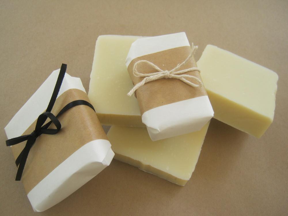 soap.... lavender, lemongrass, honey