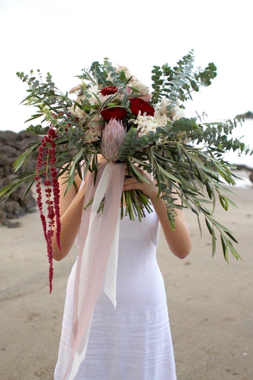 Zoe's bouquet...