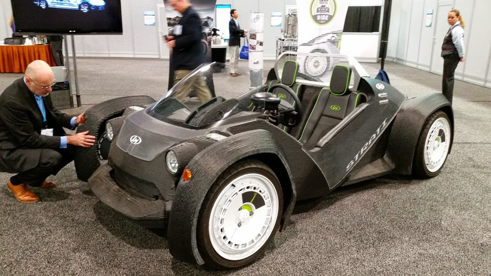 The Strati, a 3D printed car from Local Motors