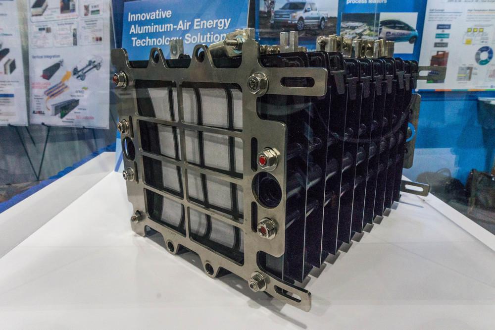 An aluminum air battery prototype