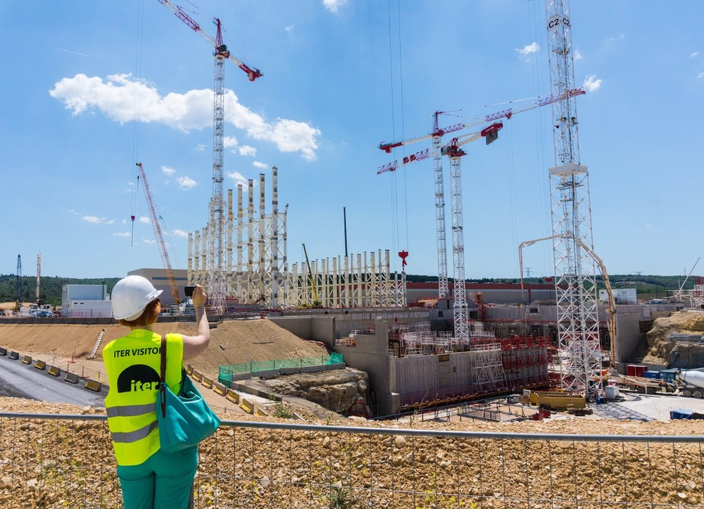 ITER under construction in southern France