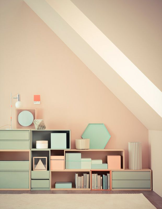 Pastels + Geometric Shapes = GOOD DESIGN