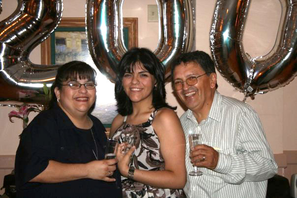 My Mami and Papi at my college graduation party. Have 7 years already flown by?!?!?!?