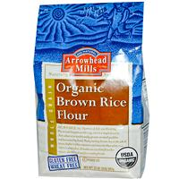 Purchase Arrowhead Mills Organic Brown Rice Flour on iHerb.com