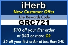 Coupon for iherb.com