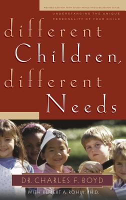 Purchase Different Children, Different Needs by Boyd & Rohm