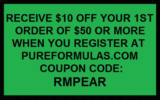 pureformulas.com coupon code
