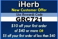 Coupon Code for iHerb.com