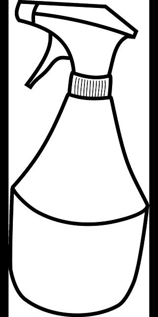 Squirt/Spray Bottle for Vinegar Solution