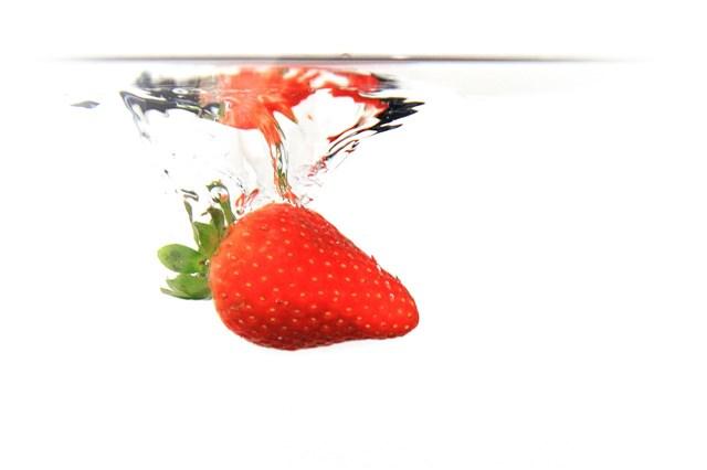 Strawberry Soakedin Water