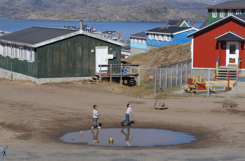 Children in Tasiilaq
