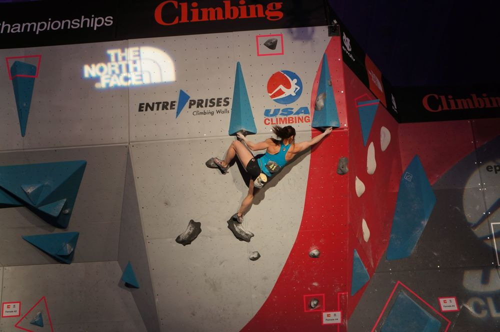 Alex Puccio on Final 4.  Flannery Shay-Nemirow Photo