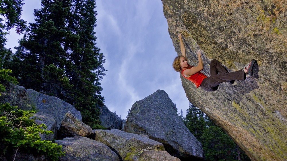 No More Greener Grasses V12, Mt. Evans, CO.  John Dickey Photo.