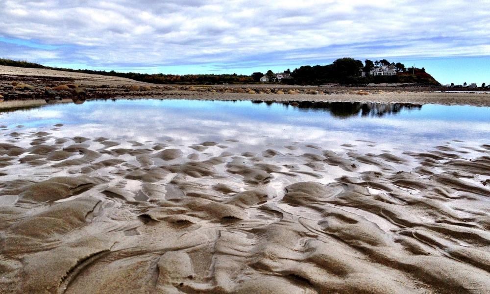 Parsons Beach, Maine.