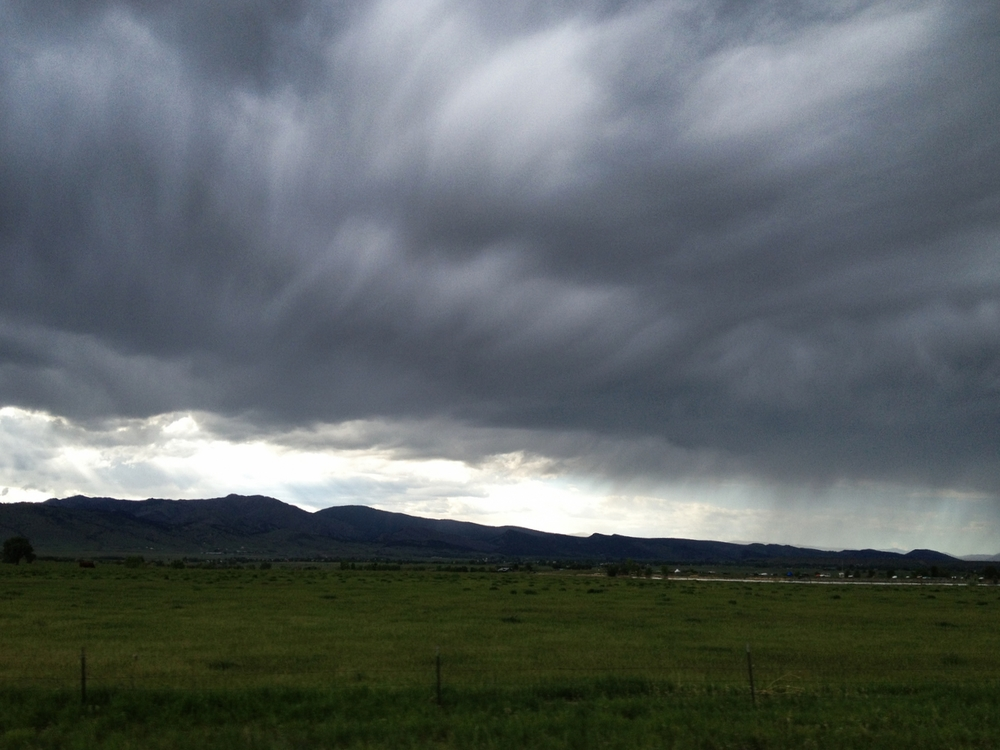 Clouds over the Front Range